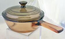 Corning Vision Amber Cook Ware 0.5 Liter Green Cooking Pot