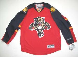 RBK FLORIDA PANTHERS PREMIER RED HOME JERSEY LARGE