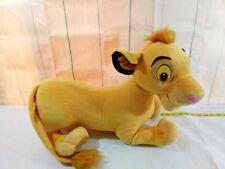 SIMBA ~ Disney Lion King Large Plush Stuffed Animal ~ 2002 Hasbro ~ 21inch Large