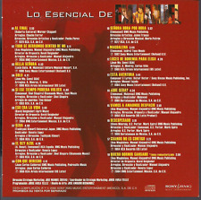 rare BALADA 80s 70s CD slip EMMANUEL Al final TODO SE DERRUMBO DENTRO DE MI
