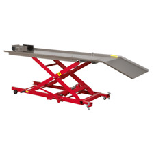 Sealey MC454 Hydraulic Motorcycle Motorbike Lift Ramp Bench 450Kg Capacity