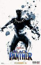 "Black Panther ( 11"" x 17"" ) Movie Collector's Poster Print (T16) - B2G1F"