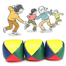 Juggling Balls Classic Bean Bag Juggle Magic Circus Beginner Kids Toy PRO#