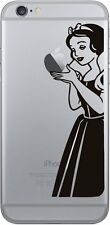 Iphone 6 plus Schneewittchen Snow white Sticker Aufkleber Decal Apple