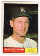 1961 Topps #160 Whitey Ford - New York Yankees, Near Mint Condition'