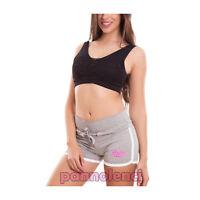 Mujer pantalones cortos shorts deporte neón fitness elástico hot jadear sexy