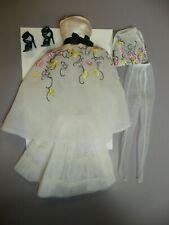 Barbie Silkstone Party Dress Outfit, Complete Amazing Flowers & Fierce Heels