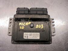 (ref.203) 04 Nissan Micra E K12 1.0 Engine ECU MEC32-020 , Programming needed