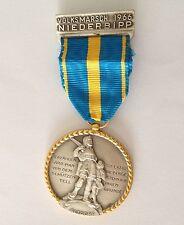 Volksmarsch 1966 Niederbipp Altdore Large Germany Medal Badge Pin Rare (N10)