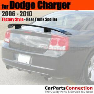 Painted Trunk Spoiler For 06-10 Dodge Charger Daytona Style PBM STEEL BLUE MET