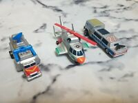Vintage Retro MATCHBOX CONNECTABLES VEHICLES - 90s Car Toys - Joblot - Bundle