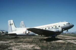 35mm Aircraft Slide USN 50782 '4M' Douglas C-117D Skytrooper NATTC MASDC 1979
