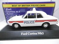 Corgi Vanguards for Atlas  Ford Cortina MKII Hampshire Police 1:43 Scale ref gj