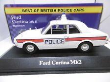 Corgi Vanguards for Atlas  Ford Cortina MKII Hampshire Police 1:43 Scale ref gj