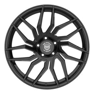 4 HP2 18 inch Gloss Black Rims fits MERCEDES-BENZ S600 (220) 2002 - 2006