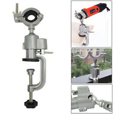 360° Electric Grinder Clamp-on Rotary Bracket Drill Stand Holder Bench Vise
