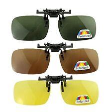 3x Polarized Polarizer Sunglasses Myopia Night Vision Glasses Clip-on Mirror