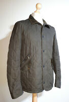 "Barbour Quilted Jacket ""Chelsea Sportsquilt"" Mens Size S Olive Green"
