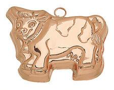 "Ruffoni Copper Cow Shaped Mold- 12"""