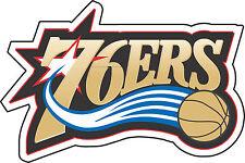 "Philadelphia 76ers NBA Basketball sticker wall decor Large vinyl decal 12.5""x 8"""