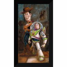 Disney Parks Toy Story Buzz Lightyear and Woody Giclée by Darren Wilson New