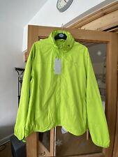 Men's Primark workout sports jacket neon green