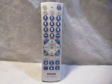 PHILIPS UNIVERSAL REMOTE TV DVD VCR CBL