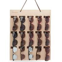Sunglasses Organizer Storage Holder Container Eyeglasses Case Wall Hanger Decor