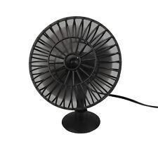 12V Portable Mini Auto Car Vehicle Cooling Cool Adsorption Air Fan Black