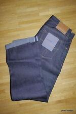 Calvin Klein Signature Raw Selvage Denim Jeans size W 31 / L 34 Neu BNWT