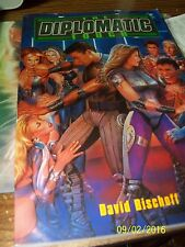 THE DIPLOMATIC TOUCH  BY DAVID BISCHOFF, FOGGY WINDOWS BOOK