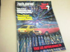 L AUTO JOURNAL - N° 22  - ANNEE  1978  *