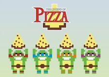 Nintendo Nes Snes TMNT Ninja Turtles Legend of Zelda Game Art Fridge Magnet  #2