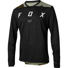 Fox Racing Indicator Long Sleeve L/S Mash Camo Jersey Black
