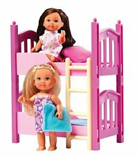 Evi Love 2 in 1 Bunk bed with 2 dolls & bedding