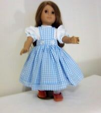 Dorothy from Wizard of Oz handmade doll clothes fits 18'' American Girl