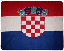Croatia Croatian Flag 50x60 Polar Fleece Blanket Throw Super Soft