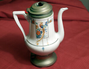 Haviland 1920s Electric Coffee Pot,  Missing Power Cord