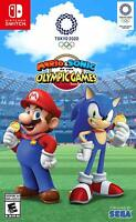 Mario & Sonic at the Olympic Games Tokyo 2020 - Nintendo Switch Video Game NEW