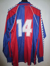 VINTAGE Maillot BARCELONE BARCELONA camiseta n°14 shirt trikot L football Barça