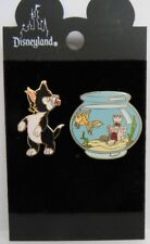Disney Figaro and Cleo from Pinocchio 2000 Pin Set