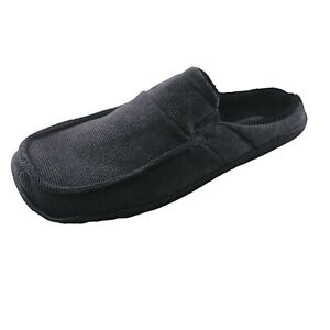 Woodlands Sperry Slippers Mens Warm Grey Slip On Backless Soft Home Shoes Comfy