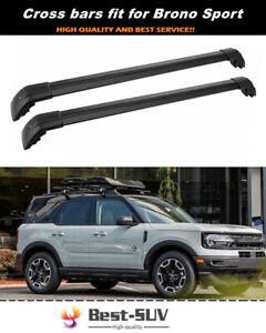 Fits for Ford 2021 Bronco Sport Roof Rack Rail Carrier Crossbar Cross bars
