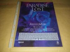 Paradise Lost - Forever Failure 2 - Single Advert - 80's,90's,00's Retro Art