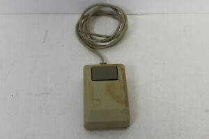 APPLE MACINTOSH MAC MOUSE M0100 AS-IS FOR PARTS/REPAIR CABLE CUT
