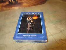 30 Hero Spell Cards from 1993 Dragon Strike Board Game by TSR