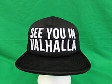 Vikings TV Show (See You In Valhalla) Trucker hat The History Channel