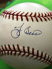 MLB New York Yankees Yogi Berra Autographed Baseball COA MLB Authentication