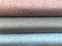 Lewis and Irene 'Winter in Bluebell Wood -Winter Dots' 100% Cotton Fat Quarte...
