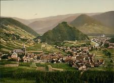 Ahrtal. Mayschoss. P.Z., photochromie, vintage photochrome, Deutschland photoc